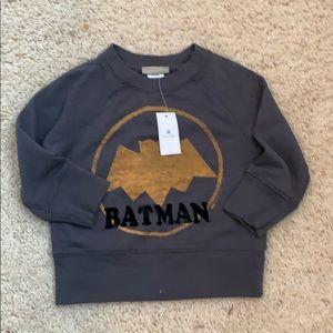 NWT Batman sweatshirt for boys